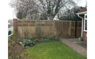 Larch Lap Fencing