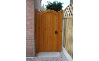Bow Top Frame, Brace & Ledge Side Doors (Softwood)