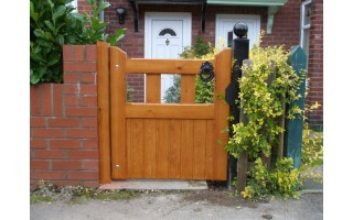 Builders Style Side Gates