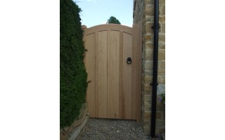 Manor Hardwood Side Doors
