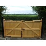 Gunstock Top Frame, Brace and Ledge (Softwood)-31