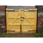Gunstock Top Frame, Brace and Ledge (Softwood)-1