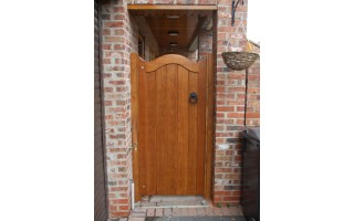 Bow Top Frame, Brace & Ledge Side Doors (Hardwood)