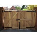 Straight Top Frame, Brace & Ledge (Hardwood)-29