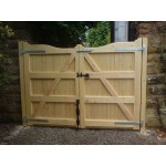 Gunstock Top Frame, Brace and Ledge (Softwood)-12