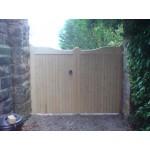 Gunstock Top Frame, Brace and Ledge (Softwood)-11