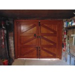 Solid Frame Brace Amp Ledge Garage Doors Softwood