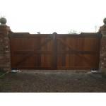 Gunstock Top Frame, Brace and Ledge (Hardwood)-7