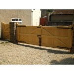 Gunstock Top Frame, Brace and Ledge (Softwood)-15