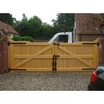 Gunstock Top Frame, Brace and Ledge (Softwood)-17