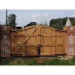 Bow Top Frame, Brace & Ledge (Hardwood)-37