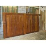 Straight Top Frame, Brace & Ledge (Hardwood)-16