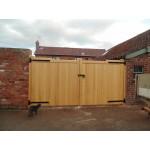 Gunstock Top Frame, Brace and Ledge (Softwood)-34