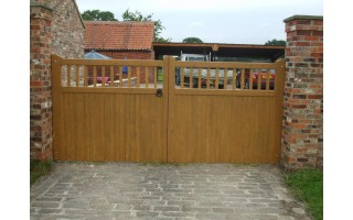 Straight Top Classic Style (Softwood)