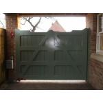 Gunstock Top Frame, Brace and Ledge (Hardwood)-1