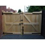 Gunstock Top Frame, Brace and Ledge (Softwood)-29