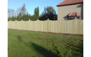 Gap Board Fencing