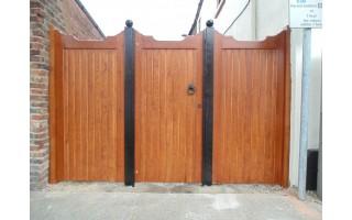 Gunstock Top Frame, Brace & Ledge Side Doors