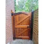 Bow Top Frame Brace Amp Ledge Side Doors Hardwood