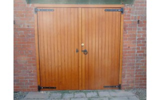 Brace and Ledge garage doors